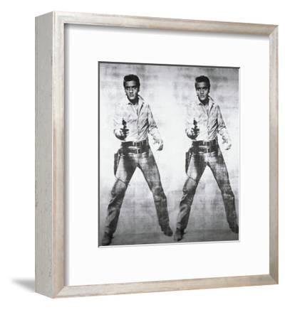 Elvis, c.1963 (double Elvis)-Andy Warhol-Framed Giclee Print