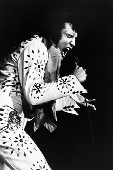 Elvis on Tour, Elvis Presley, 1972--Photo