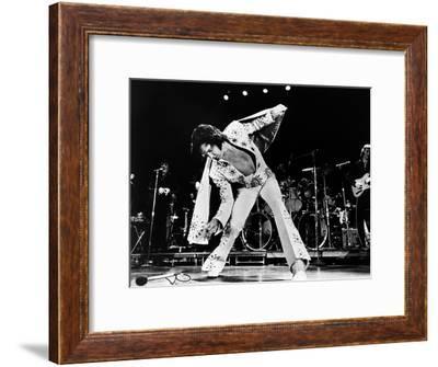 Elvis on Tour--Framed Photo