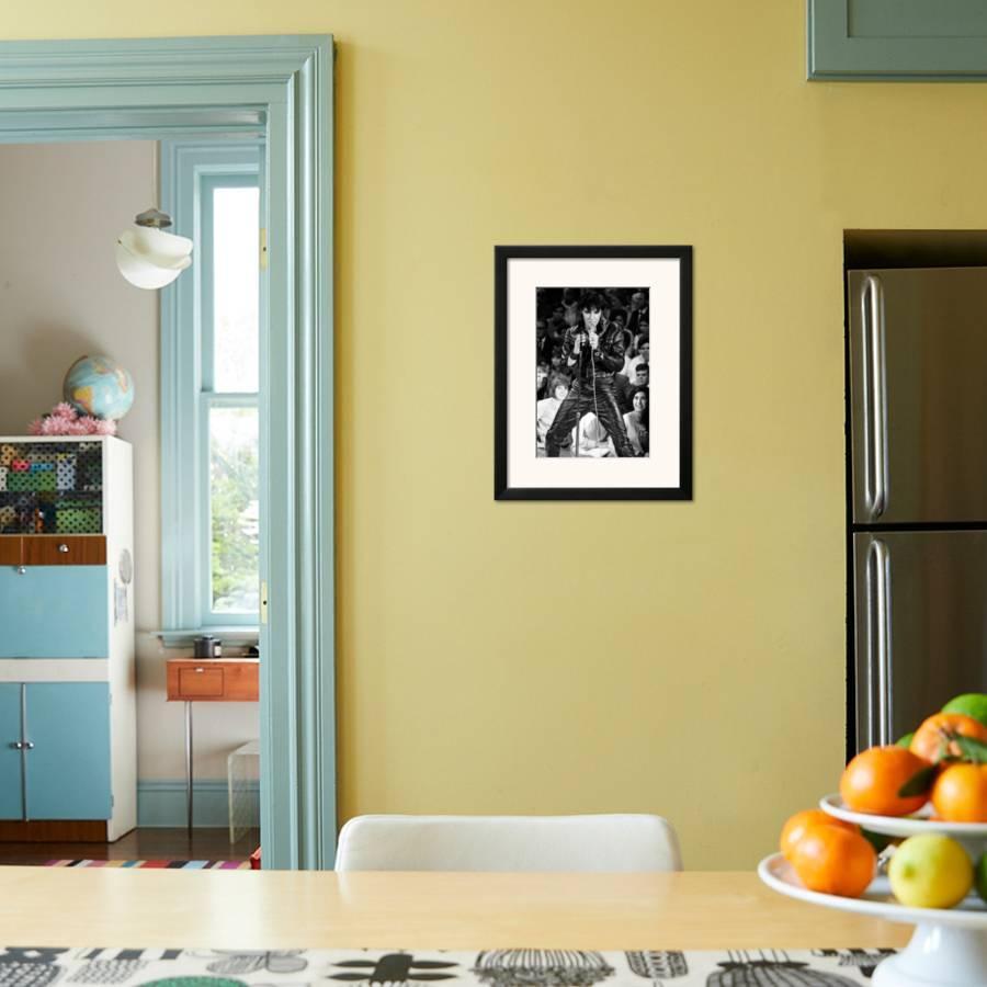Elvis Presley: \'68 Comeback Special Framed Art Print by   Art.com