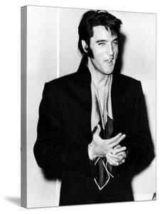 Elvis Presley, at the International Hotel, Las Vegas, Where He Is Giving a Concert, August 1969