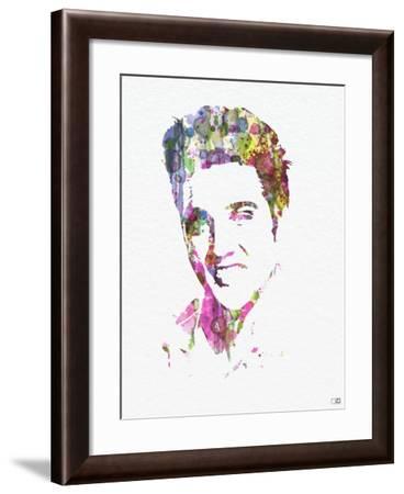Elvis Presley-NaxArt-Framed Art Print