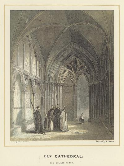 Ely Cathedral, the Galilee Porch-Hablot Knight Browne-Giclee Print