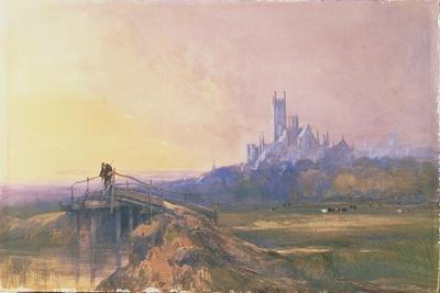 Ely Cathedral-Thomas Lound-Framed Giclee Print