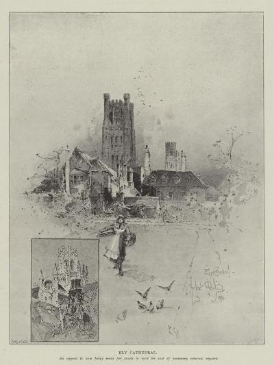 Ely Cathedral-Herbert Railton-Giclee Print