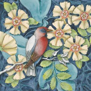 Arts and Crafts Bird I by Elyse DeNeige