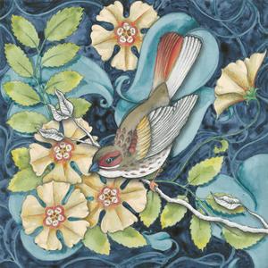 Arts and Crafts Bird II by Elyse DeNeige
