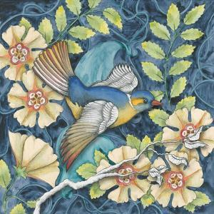 Arts and Crafts Bird III by Elyse DeNeige