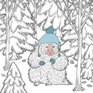 Color the Forest Color IX by Elyse DeNeige