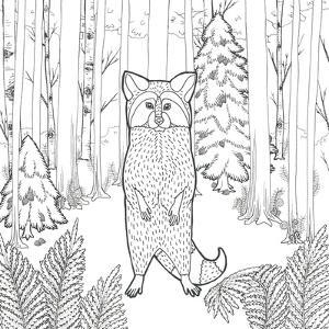 Color the Forest II by Elyse DeNeige