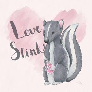 My Furry Valentine II Sq by Elyse DeNeige