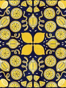 Otomi Lemon Navy Crop by Elyse DeNeige