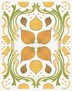 Retro Onion Otomi by Elyse DeNeige