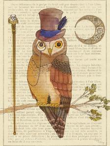 Steampunk Owl II by Elyse DeNeige