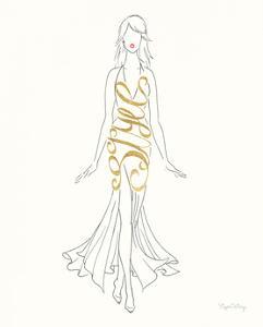 Stylish Sayings I by Elyse DeNeige