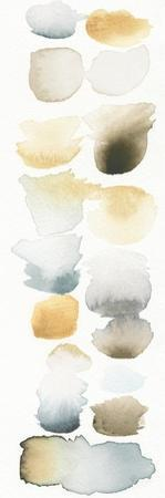 Watercolor Swatch Panel Neutral II by Elyse DeNeige