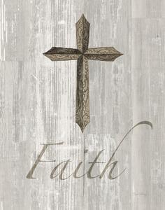 Words for Worship Faith on Wood by Elyse DeNeige