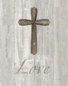 Words for Worship Love on Wood by Elyse DeNeige