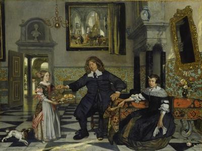 Bernardo Bellotto Holy Cross Church Giclee Canvas Print  Poster