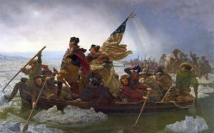 Washington Crossing the Delaware (cropped) by Emanuel Gottlieb Leutze