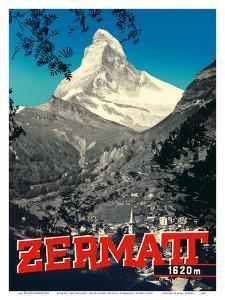 Zermatt, Switzerland - Matterhorn Mountain (Cervin) - Swiss Alps by Emanuel Gyger