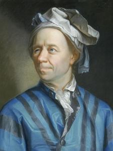 Portrait of the Mathematician Leonhard Euler by Emanuel Handmann