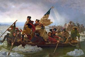 Crossing the Delaware by Emanuel Leutze