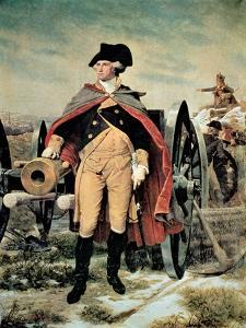George Washington at Dorchester Heights, Massachusetts by Emanuel Leutze