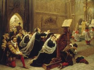 Mary Stuart, 1866 by Emanuel Leutze