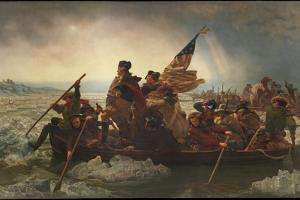 Washington Crossing the Delaware, 1851 by Emanuel Leutze