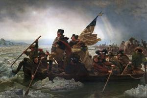 Washington Crossing the Delaware by Emanuel Leutze by Emanuel Leutze