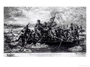 Washington Crossing the Delaware, c.1851 by Emanuel Leutze