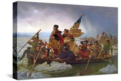 Washington Crossing the Delaware River, 25th December 1776, 1851 (Copy of an Original Painted in…