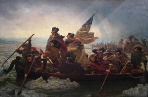 Washington Crossing the Delaware by Emanuel Leutze