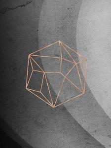 Geometric Solids On Marble by Emanuela Carratoni