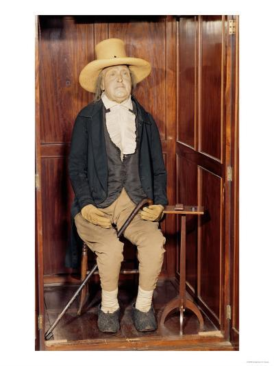 Embalmed Body of Jeremy Bentham as Exhibited at University College--Giclee Print