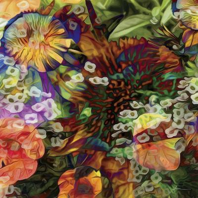 Embellished Eden Tile I-James Burghardt-Art Print