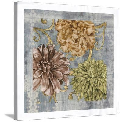 Embellished Flower Fetti I-Jennifer Goldberger-Stretched Canvas Print