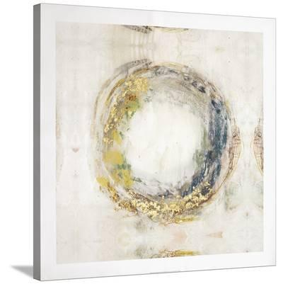 Embellished Fluid Orbit I-Jennifer Goldberger-Stretched Canvas Print