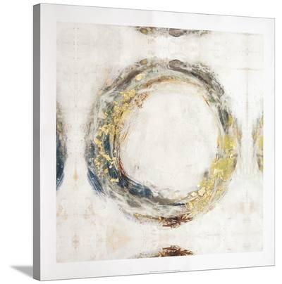 Embellished Fluid Orbit II-Jennifer Goldberger-Stretched Canvas Print