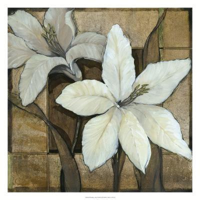 Embellished Lilies I-Tim O'toole-Art Print