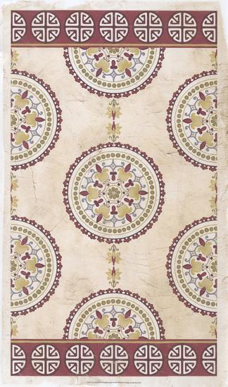 Embellished Mandala Panel I-June Erica Vess-Giclee Print