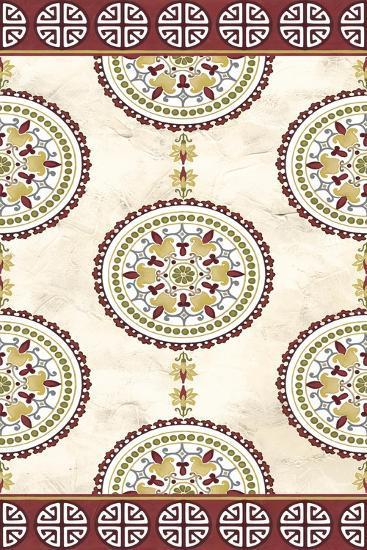 Embellished Mandala Panel I-June Erica Vess-Art Print