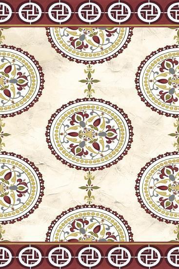 Embellished Mandala Panel II-June Erica Vess-Art Print