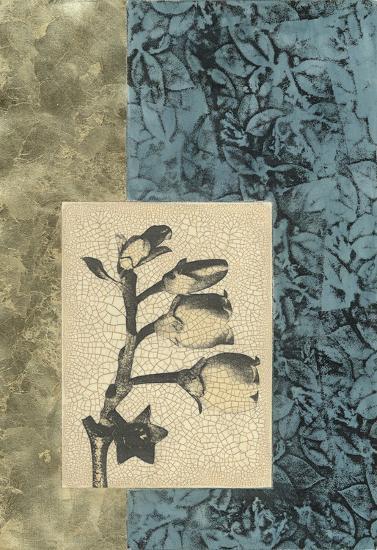 Embellished Nature's Vignette IV--Giclee Print