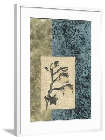 Embellished Nature's Vignette IV--Framed Giclee Print