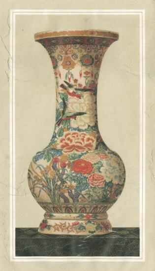 Embellished Satsuma Vase I--Giclee Print
