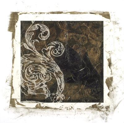 Embellished Scroll Nine Patch I-Jennifer Goldberger-Giclee Print