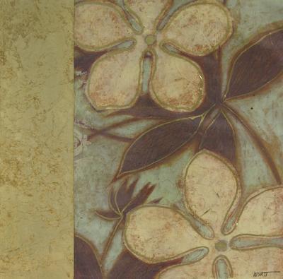 Embellished Time Worn Blossoms II--Art Print