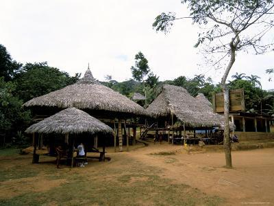 Embera Village, Soberania Forest National Park, Panama, Central America-Sergio Pitamitz-Photographic Print